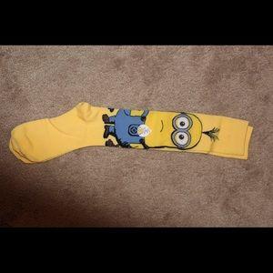 knee high minion socks